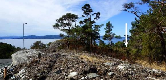 Tomt 59 – Utsikt, sol og lun beliggenhet