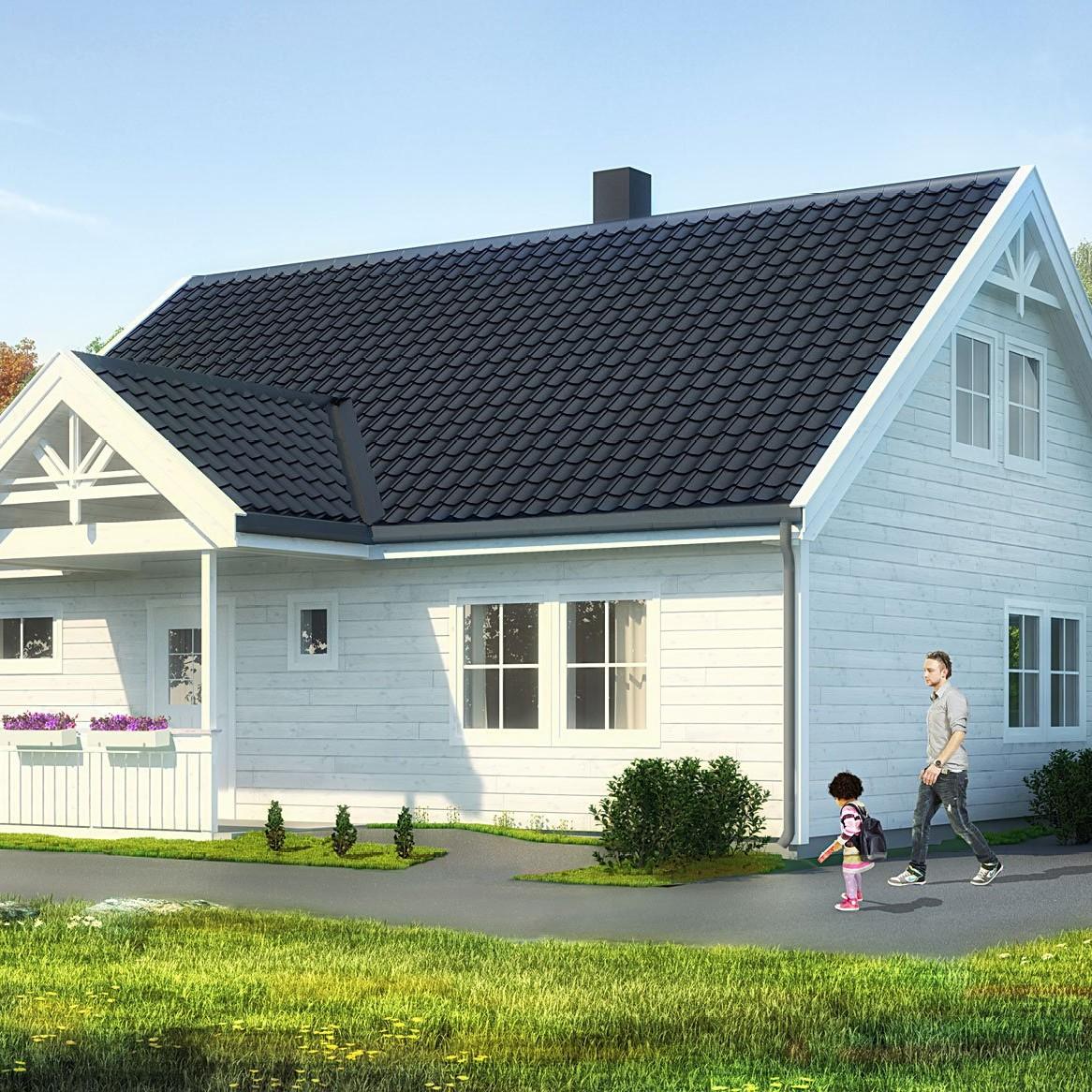 Kvadratmeterpris bygge hus