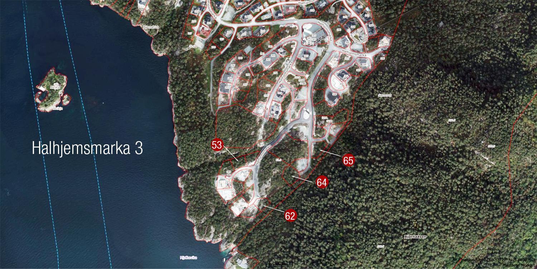 satelittbilde 4 tomter igjen Halhjemsmarka_2