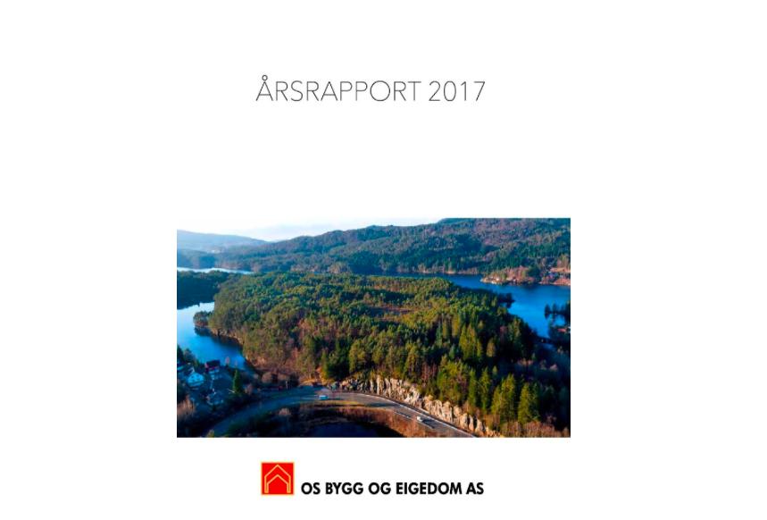 Årsrapport for 2017 er nå lagt ut